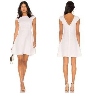 NWT THEORY Linen Cap Sleeve Shift Dress Size 6